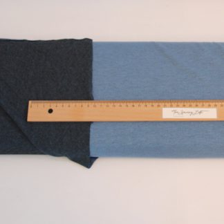 2 tijdige Tshirt stof blauw