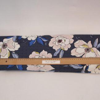 Bloemen roze en blauw