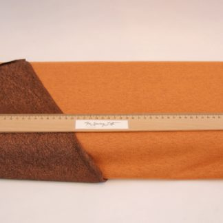 Tshirt stof 2 zijdig oranje