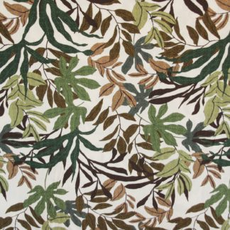Jungle bladeren viscose
