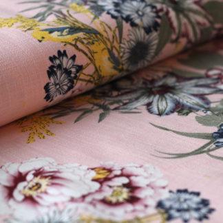 Flow linnen roze The sewing loft