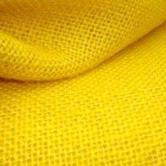 Punchneedle stof geel
