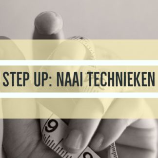 Step up : naaitechnieken bij The sewing Loft Brugge Lissewege