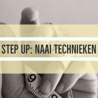 Step up : naaitechnieken bij The sewing Loft Brugge Lissewege