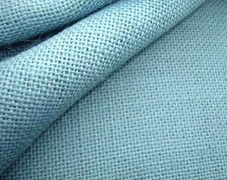 Punchneedle stof ijsblauw