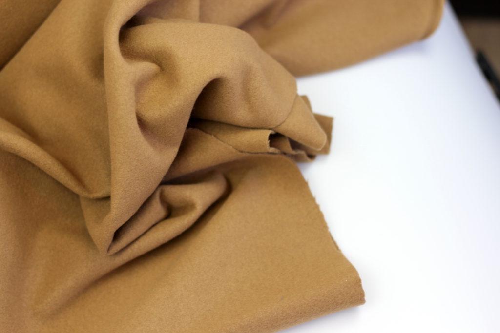 Softcoat Camel- mantelstof