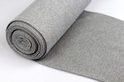 boordstof grijs en zilver