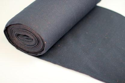 boordstof zwart en koper