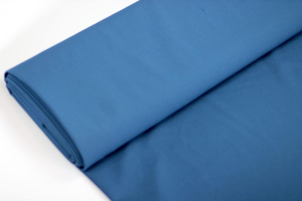 Staalblauw Triocrêpe