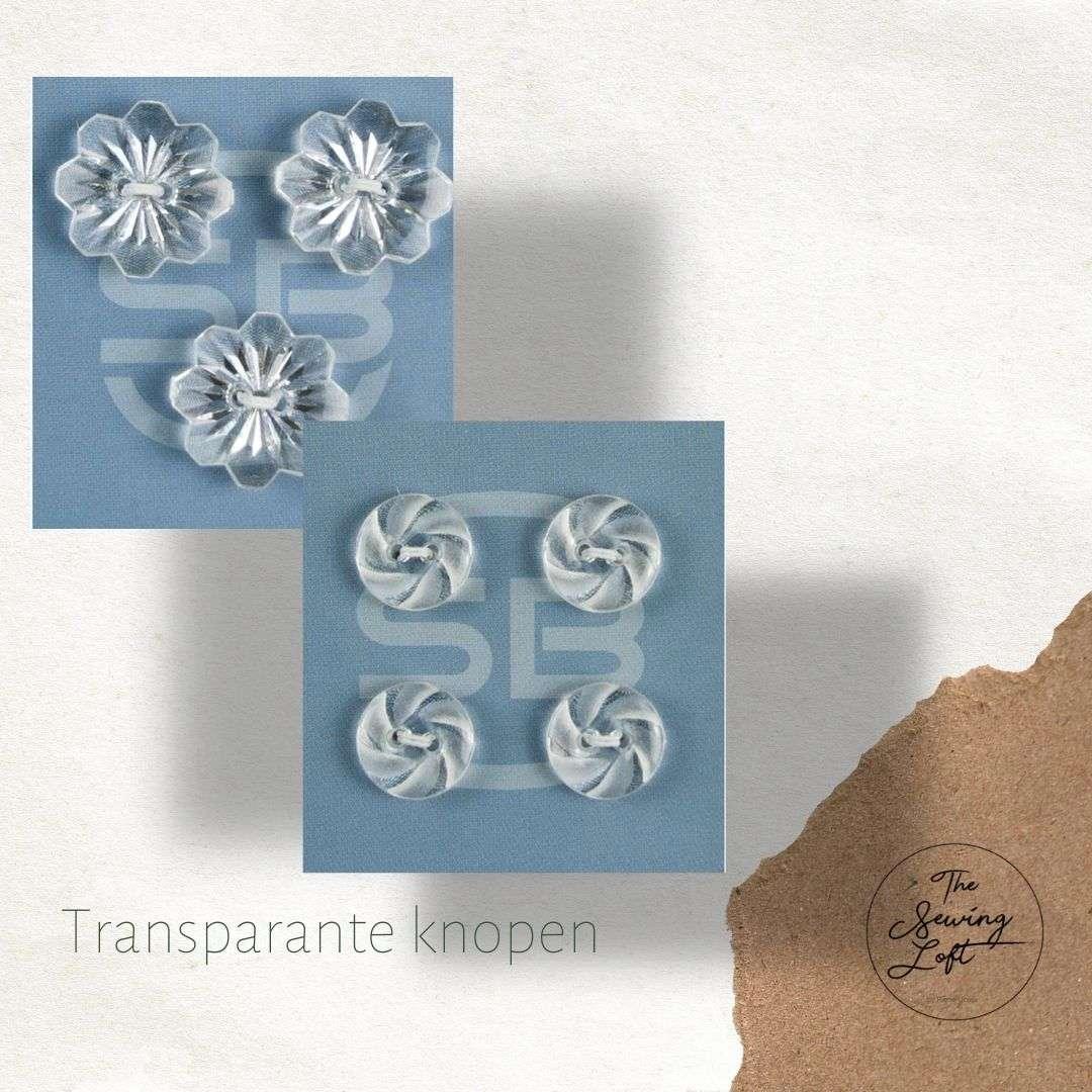Transparante knopen